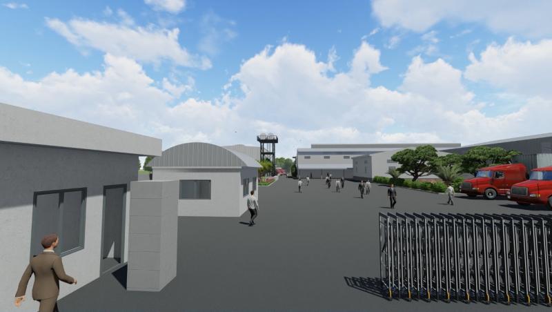 An Dien Foods Factory Project - Working In Progress