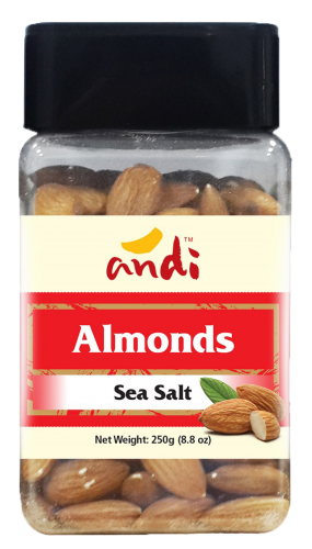 Almonds Salted 250g