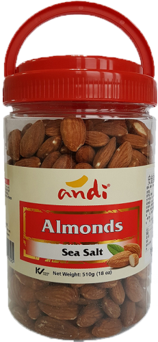 Almonds Salted 510g