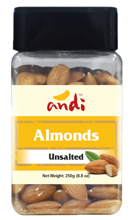 Almonds Unsalted 250g
