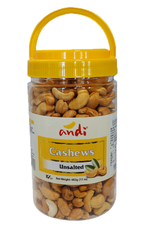 Cashews Unsalted 482g